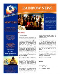 thumbnail of RAINBOW NEWSLETTER ISSUE 28 – MARCH 2017