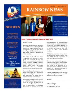 thumbnail of RAINBOW NEWSLETTER ISSUE 29 – MARCH 2017